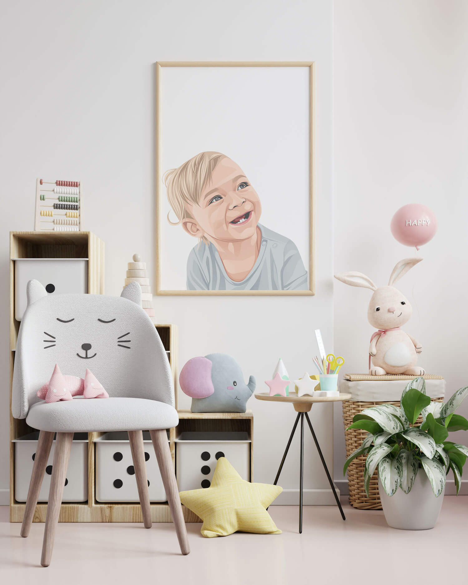 obraz, obraz do detskej izby, obraz dieťaťa, personalizovaný obraz, obraz z fotografie