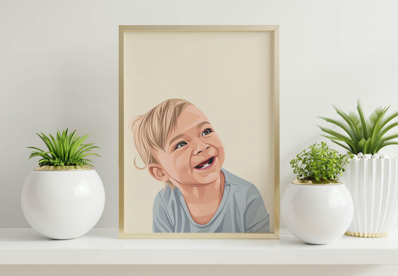 obraz, obraz pre dieťa, detský obraz, vlastný obraz na mieru, obraz na mieru